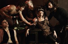 Bianca Balti is a Baroque Goddess in Dolce & Gabbana for Interview Germany: editorial photographer by Giampaolo Sgura