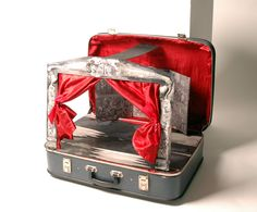 Portable puppet theatre by Janina's Design.