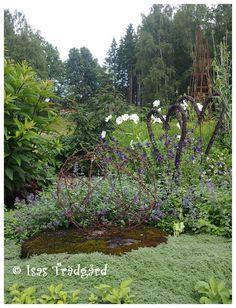 Isas Trädgård: På besök hos Anette med bloggen Rost och rädisor