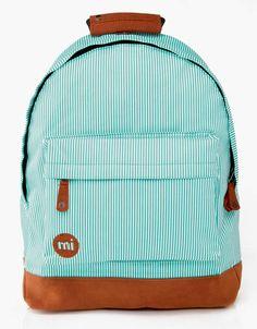 Mi-Pac Premium Backpack - Green Candy Stripe