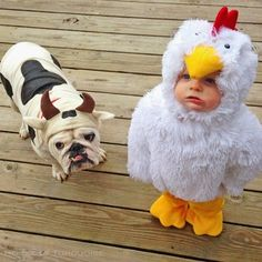 It's never to early to start thinking about Halloween costumes for dogs and kids! Especially if you're the DIY type...