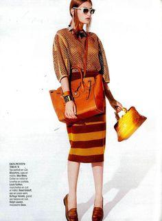 Le Soft Ricky présenté dans le numéro spécial Accessoires de Madame Figaro,  France Cuir, b9671b6d1c2