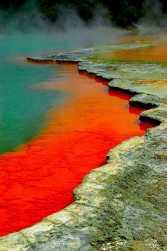 I'll be here Nov 3 on our honeymoon - Waiotapu Thermal Reserve Rotorua, New Zealand