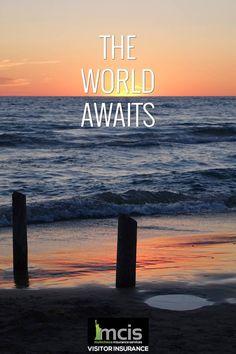 The world is your oyster, discover it! #Travel #Trip #sea #beach #sand #sunset #wold #MCIS