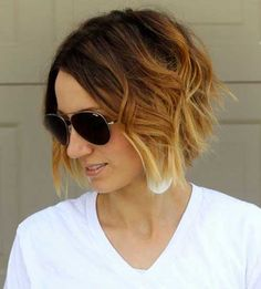 New Short Hairstyles for Wavy Hair