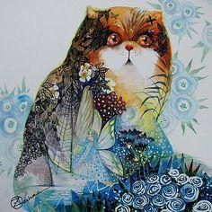 Fairy Cat by Oxana Zaika