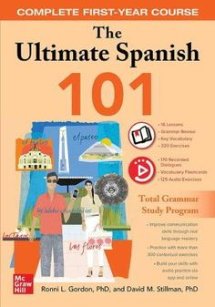 Buy The Ultimate Spanish 101 by David M. Stillman, Ronni L. Gordon and Read this Book on Kobo's Free Apps. Discover Kobo's Vast Collection of Ebooks and Audiobooks Today - Over 4 Million Titles! Spanish 101, How To Speak Spanish, Learn Spanish, New Books, Books To Read, Online Support, Learn To Read, Reading Online, Textbook