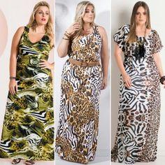 GG Premium: Vestido longo, excelente opção para quem busca um look confortável e charmoso
