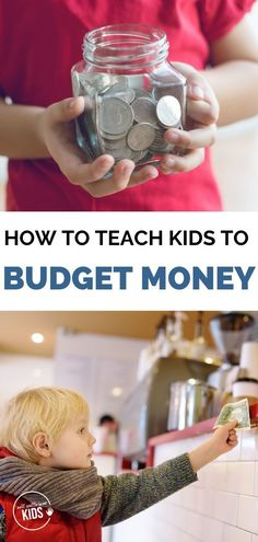 Learning how to budget money is a life skill that pays big dividends when kids are older. Help begin to teach kids how to budget their money with these tips. Includes a free printable. Teaching Kids Money, Kids Learning Activities, How To Teach Kids, Budgeting Money, Good Parenting, Business For Kids, School Kids, Middle School, Life Skills