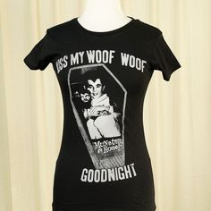Kiss My Woof Woof Ladies T