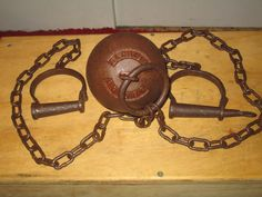 I found this Ball and chain from Alcatraz prison circa - 1880- 1900 on a walkabout, it will be a great addition to the Jethro StCyr creepy cool collection.
