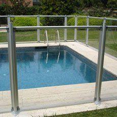 Valla de piscina en pinterest - Cloture piscine transparente caen ...