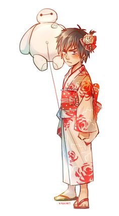 Hiro? <--- You made a bet with Tadashi again, didn't you...