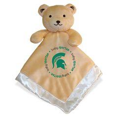 Michigan State Spartans Snuggle Bear, Multicolor