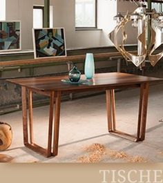 Tische Solid Wood, Entryway Tables, Furniture, Home Decor, Tables, Lunch Room, Home Furnishings, Interior Design, Home Interiors