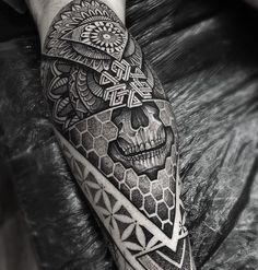 Download Free ... | Geometric Sleeve Geometric Mandala and Geometric Mandala Tattoo to use and take to your artist.