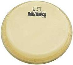"Meinl Percussion HEAD-NINO3-65 6.5-Inch Nino Head by Meinl Percussion. $23.21. This Meinl replacement head fits 6.5"" NINO bongos.. Save 40% Off!"