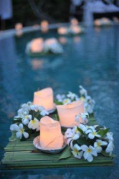 13 piscinas decoradas para casamentos   CASA.COM.BR