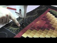 Quilt It: Eye-Hand Coordination and the Longarm Quilting Machine - YouTube