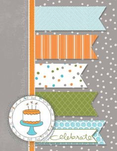 Endless Birthday Wishes Birthday card, created in MDS by Jeanna Bohanon (MDSM60)