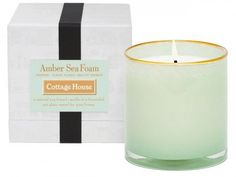 Lafco Amber Sea Foam Cottage House Candle