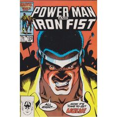 POWER MAN AND IRON FIST #123   1981-1986   VOLUME 1   MARVEL    $4.80