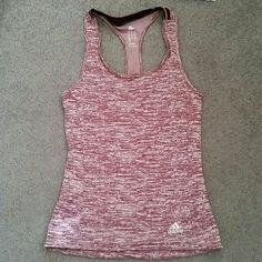 Adidas Running tank Adidas climate fitted tank top. Brand new with tags. Has small pocket on side. Reflective in low light conditions. Adidas Tops Tank Tops