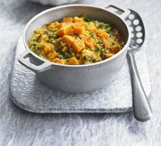 Sweet Potato, Spinach and Lentil Dahl (serves 2)