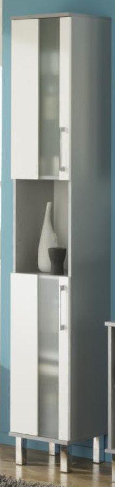 Badezimmer Hochschrank Weiß Hochglanz Jetzt bestellen unter