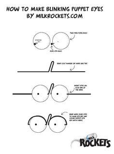 How To Make Blinking Eyes