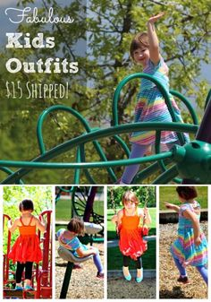 Fab Kids Outfits only $15 Shipped!  You can't beat the price or the quality!