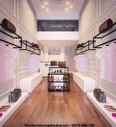 Home Decorating Trends 2018 Fashion Shop Interior, Clothing Boutique Interior, Fashion Store Design, Clothing Store Design, Retail Interior Design, Boutique Interior Design, Boutique Decor, Retail Store Design, Decoration Shop