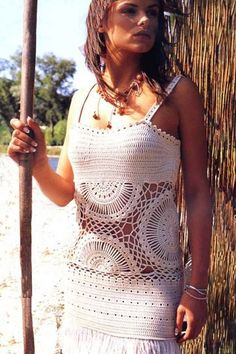 Sexy crochet tunic exquisite design PATTERN by FavoritePATTERNs, etsy