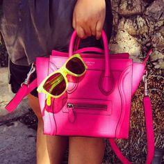 pink celine... we love.