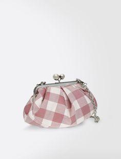 Mini Pasticcino Bag, fuchsia - Weekend Max Mara Product page Max Mara, Coin Purse Tutorial, Frame Purse, Embroidery Bags, Diy Purse, Beaded Bags, Purse Patterns, Fabric Bags, Handmade Bags