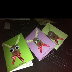 My homemade Christmas cards!