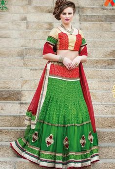 Green Designer Net Lehenga Choli..@ fashionsbyindia.com #designs #indian #womens #style #cloths #stylish #casual #fashionsbyindia #punjabi #suits #wedding #saree #chic #elegance #beauty #outfits #fantasy #embroidered #dress #lehenga #choli #PakistaniFashion #Fashion #Longsuit #FloralEmbroidery #Fashionista #Fashion2015 #IndianWear #WeddingWear #Bridesmaid #BridalWear #PartyWear #Occasion #OnlineShopping #instablogger #fashionblog #beautyblogger #thephotodiary #bride #indianwedding #india