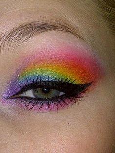 Rainbow http://www.makeupbee.com/look.php?look_id=80624