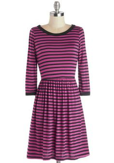 Rah-Rah-Raleigh Dress. Show your love for your locale by wearing a garment that's just as gorgeous as your hometown! #pink #modcloth