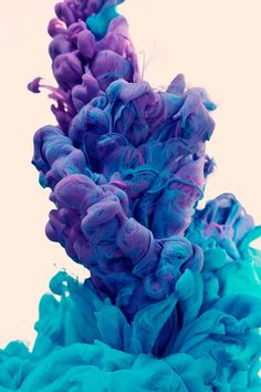 It looks like a puff of paint. COOL !!!!!!!!