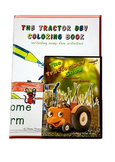The Tractor Dev Show is a wonderful educational show created by a stay at home mother of three. My kids are finally watching something they can learn from! This show teaches children about where their food comes from and lets them learn about different cultures from around the world! The great thing about this show is that along side with English they can learn Italian too! We can't wait for the next one!