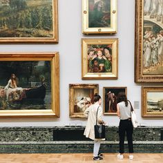 I could spend the rest of my days in museums༺
