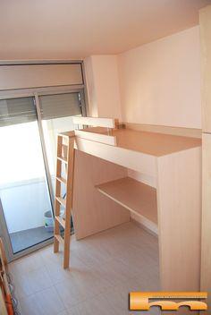 Habitacion juvenil a medida barcelona cerdanyola de valles for Medidas cama juvenil