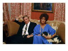 WWD - September 1973 - Pat and William Buckley @ art.com $95