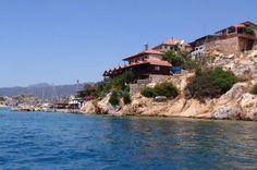 Das Dörfchen Kaleköy und das antike Simena
