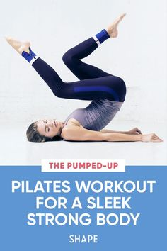 Build an exceedingly strong core and a gorgeous, toned body with reinvented Pilates moves that require almost every muscle you have. #totalbodyworkout #pilates #fitness
