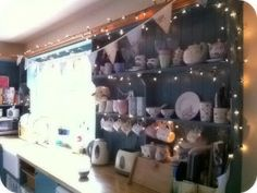 I love fairy lights and the Kitchen is a perfect place to have them ) & Fairy lights in the kitchen #nigella | Things Iu0027m loving right now ...