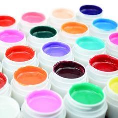 #20204 GDCOCO Pure Colors UV Gel Paint 36 Color Nail Gel