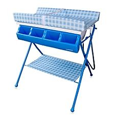 Baby Diego Bathinette Foldable Bathtub and Changer Combo in Blue - - Changing Tables - Nursery Furniture - Baby & Kids' Furniture - Furniture Nursery Furniture, Kids Furniture, Child Care Prices, Baby Changing Tables, Kids Bookcase, Kids Canvas, Changing Station, Baby Supplies, Blue Bedding
