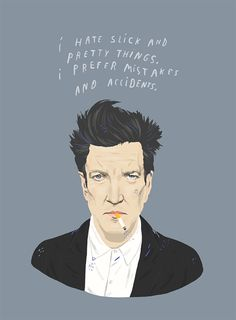 David Lynch ~ Illustration by Ivonna Buenrostro #amusementphile
